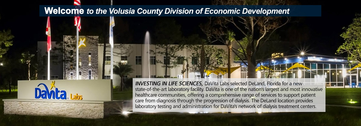 Volusia County Economic Development | Economic Development