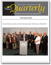View the Economic Development Quarterly 3rd quarter 2016